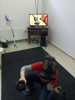 Посетили развлечение виртуальная реальность