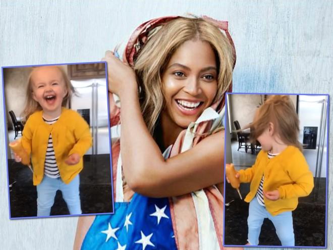 Заряд позитива: двухлетняя девочка зажигательно танцует под песню Бейонсе