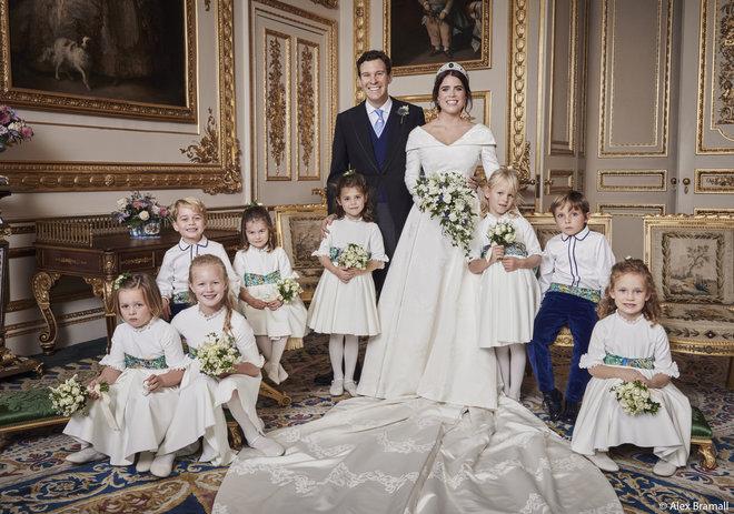 Официальный портрет со свадьбы принцессы Евгении