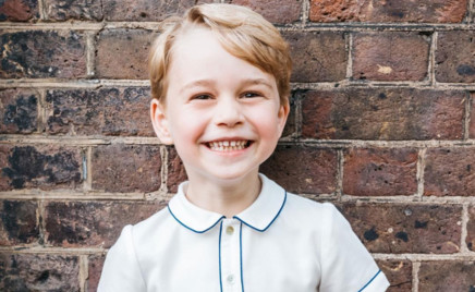 Новый портрет: улыбка принца Джорджа всех покорила
