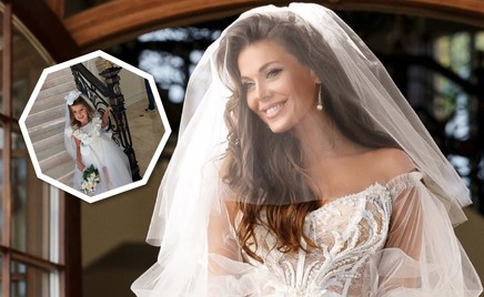 Свадебный family look: Татьяна Терешина с дочкой