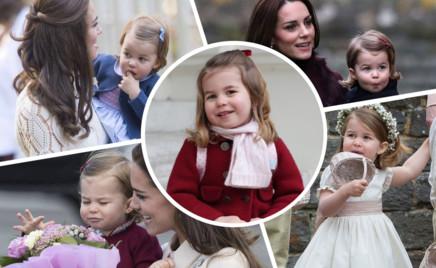 Принцесса-очаровашка: 25 смешных фото Шарлотты