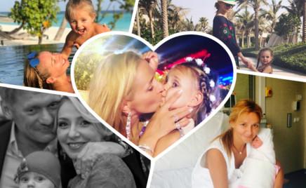 С именинницей: дочке Татьяны Навки и Дмитрия Пескова – 4 года