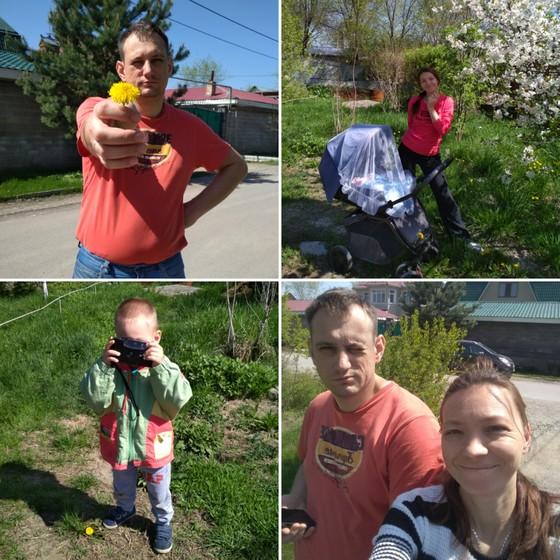Весна у нас в Алмате, в душе и дома😄