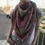 Платок/мини-шаль/бактус