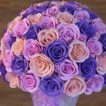 Цветочная композиция из фоамирана