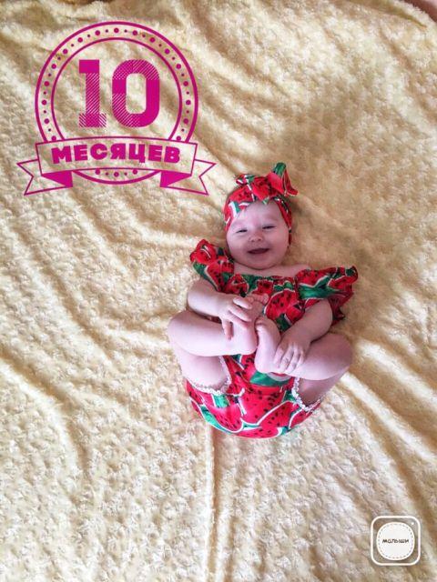 Новогодний, открытка дочке 10 месяцев